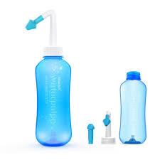 kemei 500ml nose neti pot nose washer nasal rinsing nose cleaner system neti pot for allergic rhinitis neti pot km 1300xb blue 500ml co uk baby