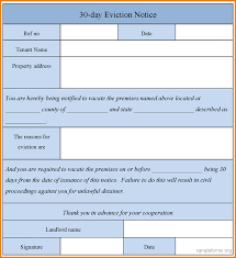 Examples Of Eviction Notices 24 Eviction Notice Template Receipt Templates 24