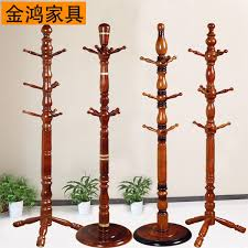 Solid Wood Coat Rack Extraordinary European Solid Wood Floor Coat Rack Hanger Creative IKEA Bedroom