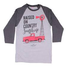 Simply Southern New Designs Amazon Com Simply Southern Long Sleeve Raglan Country Girls