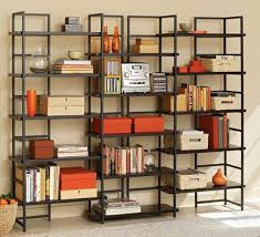 office bookshelves designs. Office Bookshelf Design. Cabinet \\u0026 Storage Large Black Metal Bookcase Frame Material Wood Shelves Bookshelves Designs