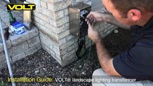 volt university low voltage landscape lighting transformer installation you