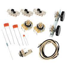 fender vintage 62 jaguar wiring kit pots switch slider reverb quantity