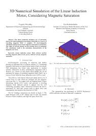 design optimization and ysis of single sided linear induction motor considering all phenomena request pdf