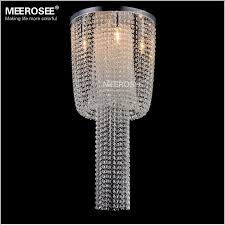 meerosee long size crystal light fixture french empire chandelier re light bedroom aisle porch lamp hallway crystal re lighting md12110l ceiling