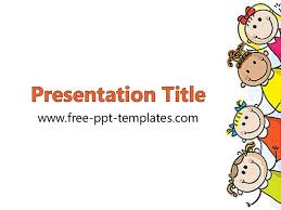 Free Templates For Kids Kids Powerpoint Template Powerpoint Themes For Kids Ppt Template For