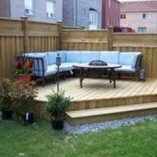 Small Picture Small Outdoor Deck Ideas Cool Decks Design Ideas Magnificent Home