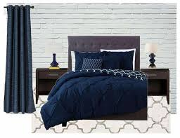 Master Bedroom Inspiration   Navy Blue And Gray   The Handymanu0027s Daughter