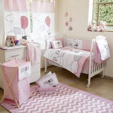 home design pink and gray chevron crib bedding winnie the pooh playk 4t awesome