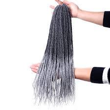 Shangke小さなsenegaleseツイストかぎ針編み三つ編み髪型30根パック