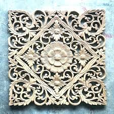 wooden carved wall hangings