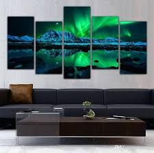5 panel canvas prints 5 panel canvas art aurora sea wave canvas print wall art picture home decoration living room unframed 5 panel painting landscape oil  on 5 canvas wall art custom with 5 panel canvas prints 5 panel canvas art aurora sea wave canvas