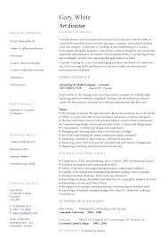 Art Resume Template Vfx Artist Cv Makeup Sample