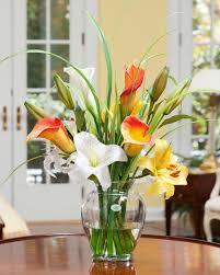 Silk Arrangements For Home Decor Orchids Home Wedding Table Decorative Silk Flowers 6 Colors Home