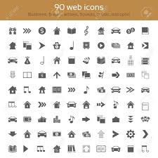 Web Design Arrows Set Of Icons For Web Design Collection Themes Business Arrows