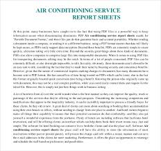 Air Conditioner Amc Agreement Format Sample Service Report Template 25 Free Word Pdf Apple Pages