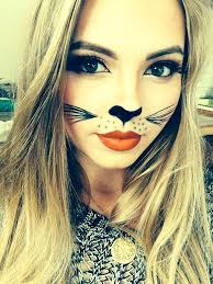 cute kitty cat makeup meow