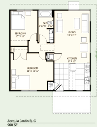 700 To 800 Sq Ft House Plans  700 Square Feet 2 Bedrooms 1 800 Square Foot House Floor Plans
