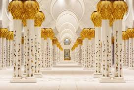 built between 1996 and 2007 the sheikh zayed grand mosque is the largest place of worship in the united arab emirates