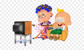 funny baby and boy cartoon clip