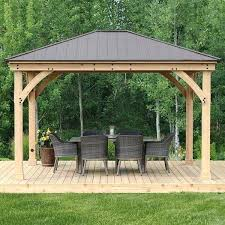patio gazebo for patio outdoor wood search results furniture