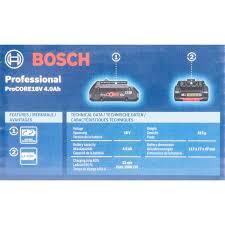 Аккумулятор <b>Bosch</b> Procore18V, 18 В Li-ion, 4 Ач в Москве ...