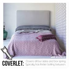 FAQ: What is a Duvet Cover? Decoding how to dress your bed. & bed3. Coverlet ... Adamdwight.com