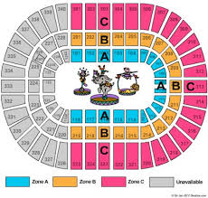 Nassau Coliseum Seating Chart Circus Elcho Table