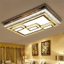 led ceiling lamp stepless adjustment light cutting square
