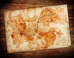 old treasure map vinyl wall mural backgrounds