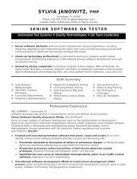 Software Tester Resume Sample Sample Tester Resume Software Tester ...
