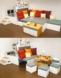 small apartment furniture solutions. Charming Small Apartment Furniture Solutions Thedesignerpad Tight Space Big