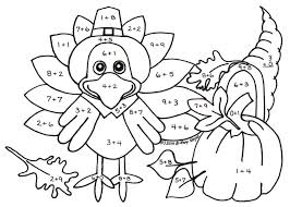 Thanksgiving-math-worksheets & Coloring Pages Math Worksheets A ...