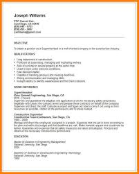 Construction Foreman Resume Examples Resume Sample 23