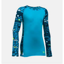 Under Armour Girls Cold Gear Top Nwt