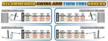 Afco Shock Chart Afco 1373 5t 13t Alum Big Threaded Twin Tube 7 Inch Shock Comp 3 Reb 5