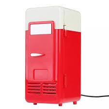 Tủ lạnh mini có cổng cắm USB dùng để làm mát đồ uống dành cho văn phòng  trong xe hoặc khi đi du lịch (dung tích 780ml) - INTL