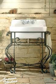 american standard retrospect sink console