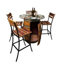 wine barrel outdoor furniture. simple barrel model1089 sonoma wine barrel outdoor patio set napa for furniture