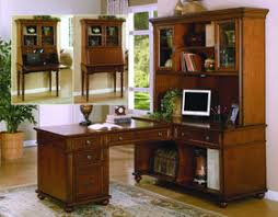 traditional cherry solid wood secretary desk home office furniture cherry wood home office