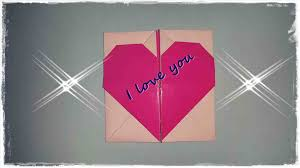 love box heart gift print your own diy u envelope with secret message diy origami love
