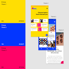 Color Contrast Combination Chart The Color System Material Design