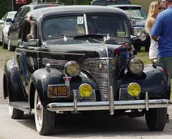 1939 Chevrolet Coupe - Black - Front