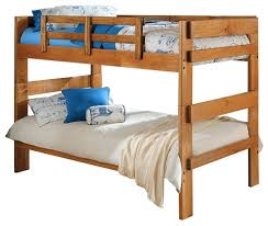 heartland twin over twin wooden bunkbed traditional bunk beds by ctc furniture inc