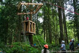 treehouse masters treehouse point. Community Of Treehouse Enthusiasts Building The Bonbibi At A Workshop Point. Masters Point