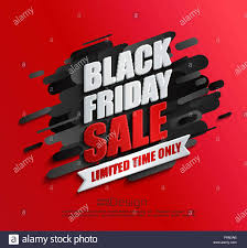 sale flyers dynamic black friday sale banner on red background perfect template