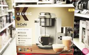 Choose the latte or cappuccino button on the machine to assure the correct size and brew method. Keurig K Cafe Coffee Latte Cappuccino Maker Just 132 20 Kohl S Cash Reg 250