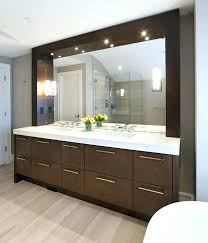 Bathroom Mirror Modernround Chrome Wall Mirror Brushed Chrome