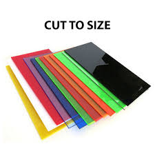 cut to size color acrylic sheet cast