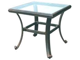 tempered glass patio table luxury round glass patio table and end table glass top replacement medium